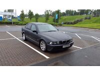 For sale bmw 525i with gearbox defekt. Long MOT