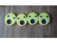Zoggs arm band discs x 4