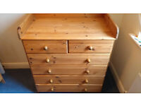 Mamas and Papas Wooden Changing Station - £10.00 ONO