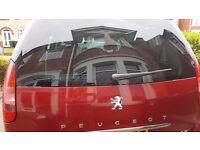 Red Peugeot 807 06 plate, new cam belt, 4 new tyres, 8 months MOT, DVD