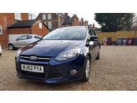 Ford Focus 1.0 EcoBoost 125bhp Titanium for sale. Mint Condition, Cheap to Run, Drives Superbly