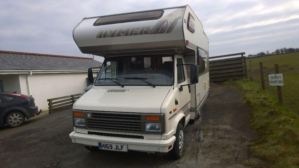 citroen c25 hymer 1400 motorhome coach built tourer 1990 registration 2500cc diesel in. Black Bedroom Furniture Sets. Home Design Ideas