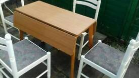 for sale kitchen table and 4 chairs