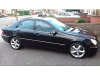 2005 Mercedes-Benz C200 CDI AVANTGARDE 2.1L Saloon Automatic DIESEL Black,Full S History,Low mileage
