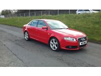 2007 AUDI A4, S LINE, FULL SERVICE HISTORY