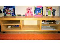 Solid Wood TV stand in Excellent condition