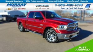 2014 Ram 1500 Laramie ECO Diesel Only 19 KM, As new! Loaded! Lar