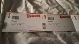 2x Wicked Tickets Fri 1st June