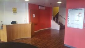 100 to 350 sqft office space available with first month rent free offer, call on 07982931351