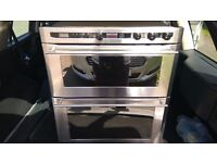 Stoves Q720 EM DO Stainless Steel Electric Double Oven (Free CERAMIC Hob)
