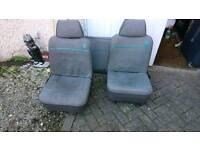 Classic mini seats interior