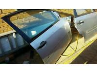 FORD FIESTA 2002 TO 2006 FRONT DRIVERS DOOR AND REAR DRIVERS SIDE DOOR COMPLETE WITH GLASS AND ELECS