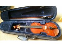 1/2 size violin with case