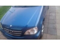 Mercedes ml270 for quick sale