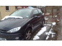 Peugeot 206 XSi. Full Leather. Barn Find Resto Spares Repairs