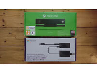 Xbox One Kinect Sensor & Kinect Adaptor for Windows