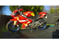 Aprilia rs 125 2007 low mileage fp