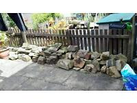 Stone. Assorted, suitable for walls, rockery etc.