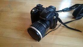 Digital SLR Camera - Fujifilm Finepix S5600 w/ Antler Leather bag