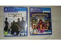 Star Trek Bridge Crew/Werewolves Within PS4 PSVR