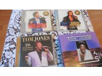 Collect of Tom Jones CD's with up to 189 songs