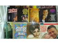 40 great albums new and old all in excellent condition. 50's thru'80's Easy/Rock/Pop/Film music