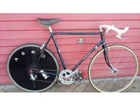 FLYING SCOT - 531 TT ROAD RACING BIKE IN SHOWROOM CONDITION (VINTAGE 1956 - Eroica / Sportive ready)