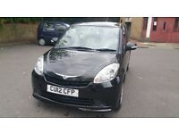 2012 PERODUA MYVI EZI AUTO BLACK/1.29cc/ONE OWNER FROM NEW MOT/ FSH /9,476 Millges/Perfect Condtn