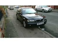2004 Black BMW 318d SE 4dr Mot
