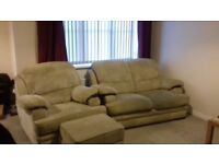 Sofa, Chair and Storage Stool free to good home.