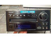 HiFi set - DVD receiver Teac+Wharfedale diamond 10.1+speakers stands