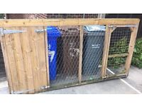 Dog Kennel and sleeping area and run