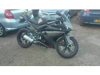 Yamaha Yzf r125 delivery avalible