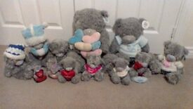 Collection of 12 various Tatty Teddy Bears