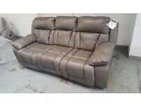 NEW KENNEDY 3 SEATER POWER RECLINER & 1 POWER RECLINER & 1 ROCKER MANUAL RECLINER ARMCHAIRS