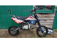 Pit bike - 2016 140cc Stomp with upgrades