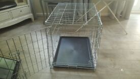 Doggy crate silver