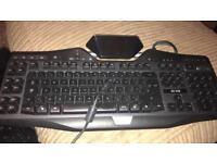 G19 Logitech gaming keyboard