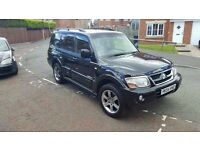 2005 54 mitsuibishi shogun 3.2 did lwb 4x4 7 seater warrior full leather