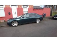 BMW 7 SERIES, 2002, 745i, E65 (£3150 - price negotiable, be the first!!)
