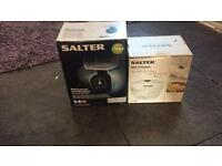 Salter Scales And Mini Chopper, Brand New