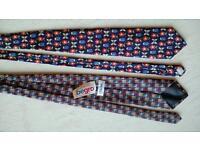 Zwei Kravatte Krawatte Schlips Binder nagelneu nie getragen Hessen - Marburg Vorschau
