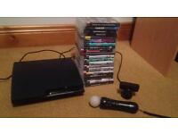 PS3 slim 160gb + 20 games, Great condition, needs gone!!