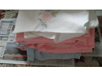 3 PAIRS DOUBLE SHEETS
