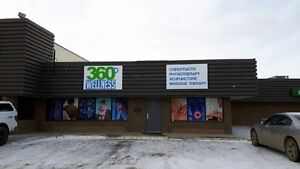 Store front signage
