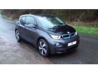 bmw i3 eletric 2015 just 4624 miles done,leather interior,fast DC charging