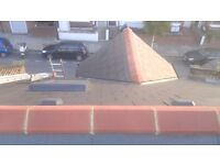 Roofer Repairs fr £75 gutter clean £40 storm damage Chimney No call out fee.