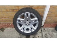 MERCEDES 17 ALLOYS WITH FULL SET OF AVON ICE TOURING WINTER TYRES, FIT E CLASS 2003 ONWARDS!!
