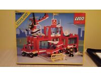 Fire station lego set