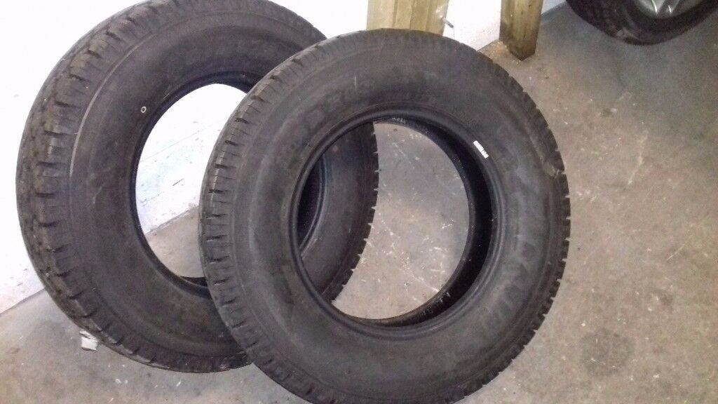 2 x 195 R15 M+S WINTER TYRES , MAXXIS, GOOD TREAD